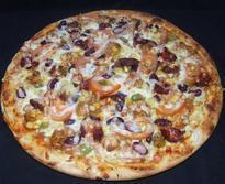 Szalamis pizza